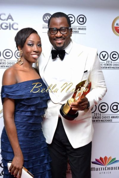 Beverly Naya & Desmond Elliot - 2014 AMVCA - March 2014 - BellaNaija