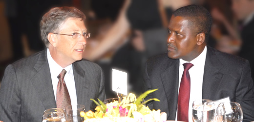 Bill Gates & Aliko Dangote - March 2014 - BellaNaija