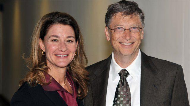 Bill and Melinda Gates - Bella Naija
