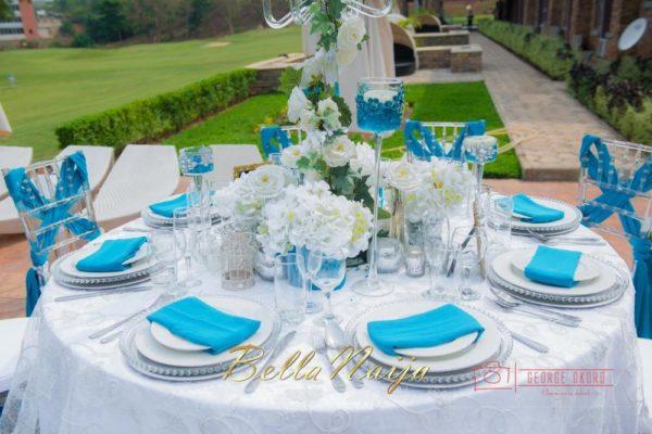 Black Pearl Events - Blue Velvet Decor & Marquee - Styled Wedding Shoot Abuja, Nigeria - BellaNaija Wedding Decor 2014 - George Okoro Photography - 00