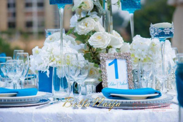 Black Pearl Events - Blue Velvet Decor & Marquee - Styled Wedding Shoot Abuja, Nigeria - BellaNaija Wedding Decor 2014 - George Okoro Photography - 05