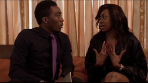 Bovi & Kate Henshaw- The Affair Skit - March 2014 - BellaNaija