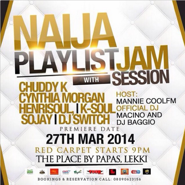 Events this weekend bellanaija for Bedroom jams playlist