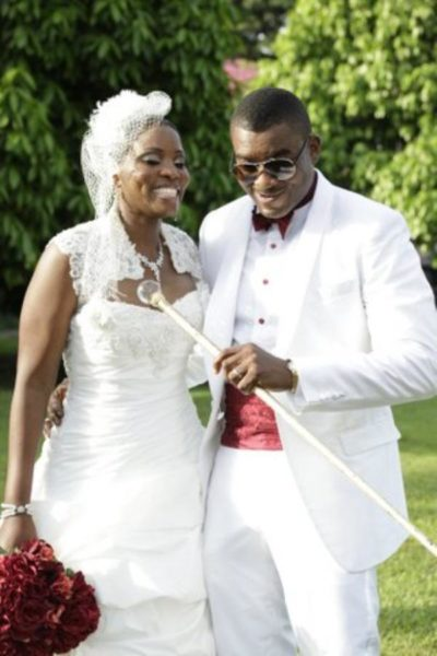 Chidi Mokeme & Wife - BellaNaija