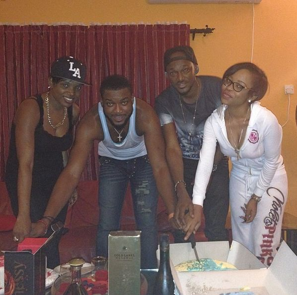 Chidi Mokeme's 42nd Birthday Party - March 2014 - BellaNaija 01