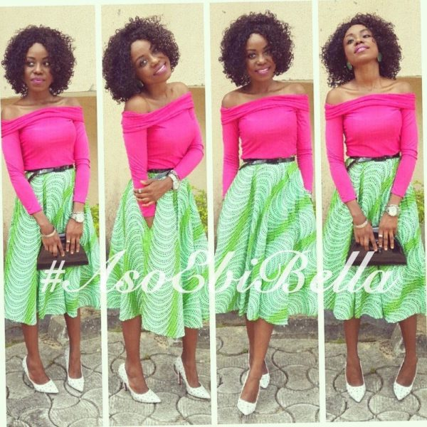 @Cynthia, skirt by @Oti