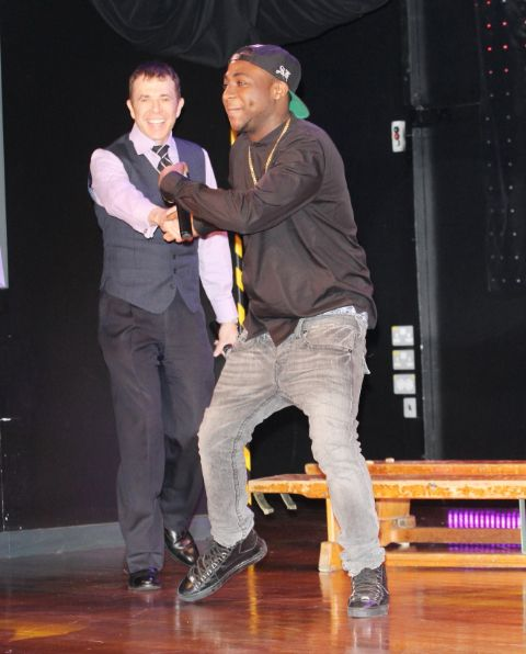 Davido at Tottenham Community School - March 2014 - BellaNaija - 024