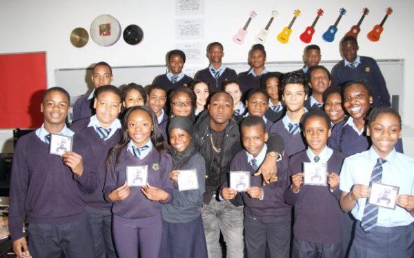 Davido at Tottenham Community School - March 2014 - BellaNaija - 028
