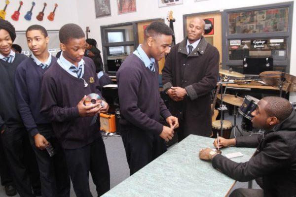 Davido at Tottenham Community School - March 2014 - BellaNaija - 031