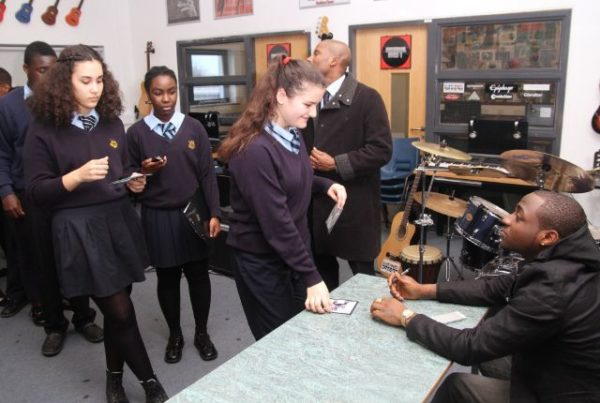 Davido at Tottenham Community School - March 2014 - BellaNaija - 033