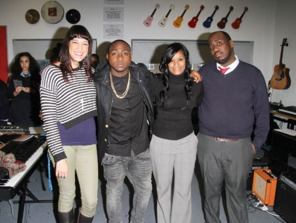 Davido at Tottenham Community School - March 2014 - BellaNaija - 035