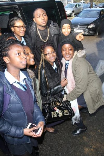 Davido at Tottenham Community School - March 2014 - BellaNaija - 038