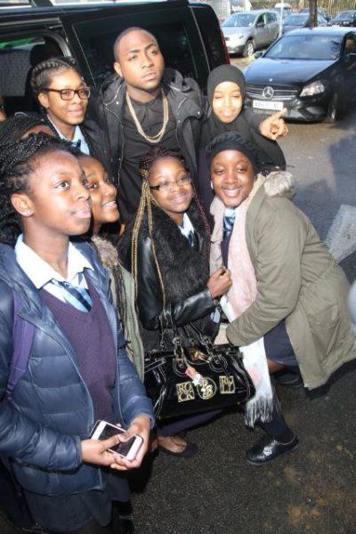 Davido at Tottenham Community School - March 2014 - BellaNaija - 038