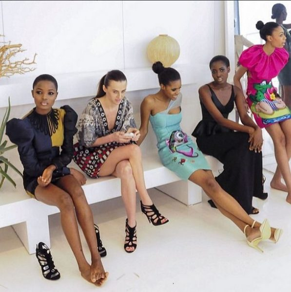 Deola Sagoe and Clan for New York Fashion Week 2014 - BellaNaija - March 20140012