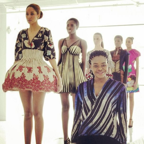 Deola Sagoe and Clan for New York Fashion Week 2014 - BellaNaija - March 2014004