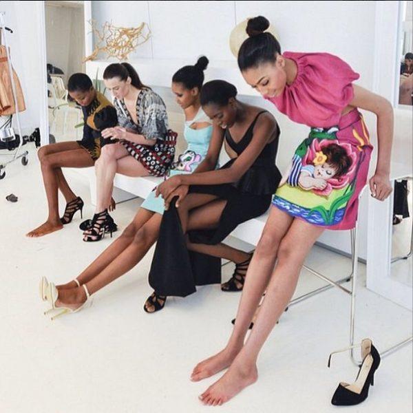 Deola Sagoe and Clan for New York Fashion Week 2014 - BellaNaija - March 2014006