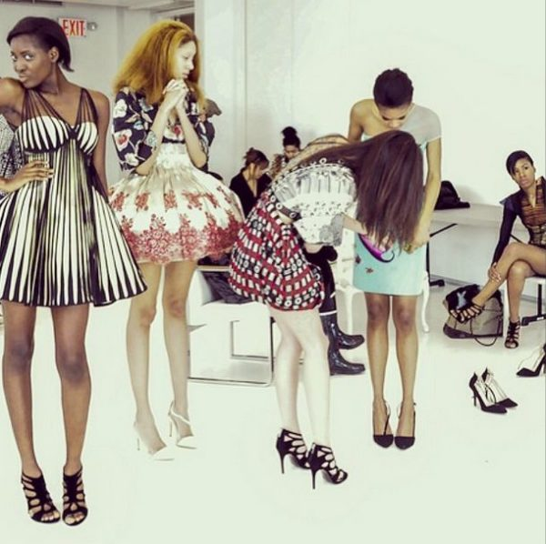 Deola Sagoe and Clan for New York Fashion Week 2014 - BellaNaija - March 2014009