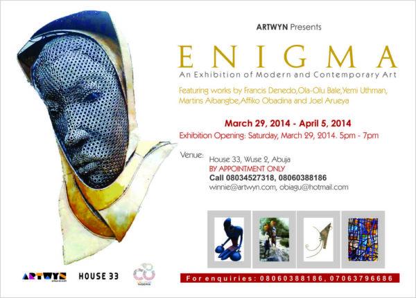 Enigma Exhibition - BellaNaija - March - 2014