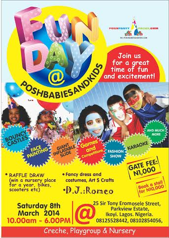 Fun Day at Posh Babies and Kids - BellaNaija - March 2014