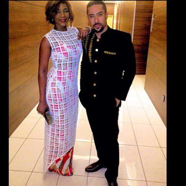 Genevieve Nnaji & Majid Michel - March 2014 - BellaNaija
