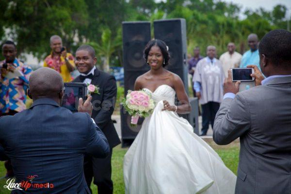 Ghanaian Wedding BellaNaija Bride & Groom