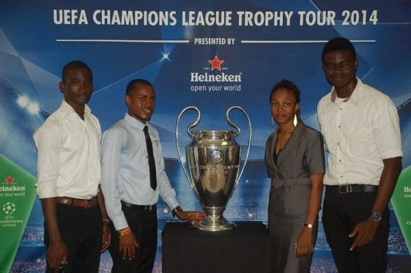 Heineken and UEFA Trophy Tour 2014 with Gov Fashola - BellaNaija - March2014015
