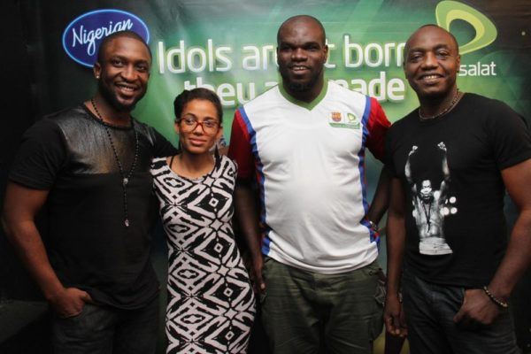 Season 4 Judges & Host! Darey, Nneka, Host: Ill Rymz, Mabiku
