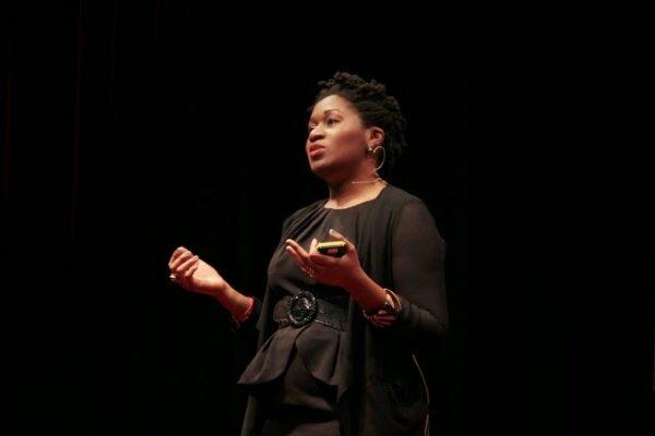 Jackie Nwobu at TEDxEuston 2
