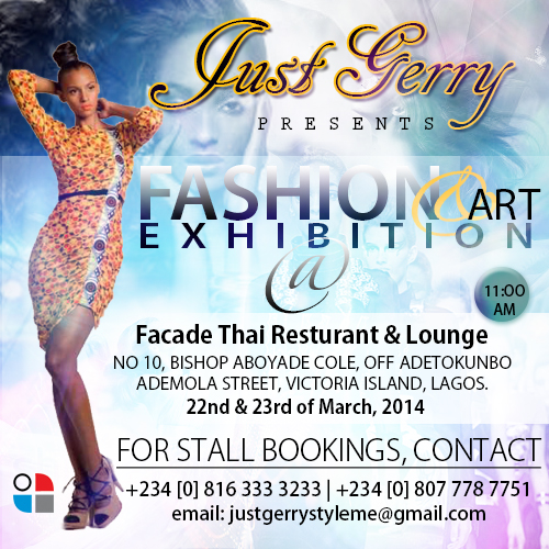 JustGerry Fashion & Art Exhibition - BellaNaija - March - 2014