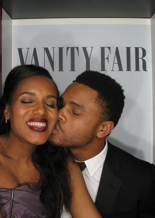 Kerry Washington & Nnamdi Asomugha on BellaNaija - March 2014