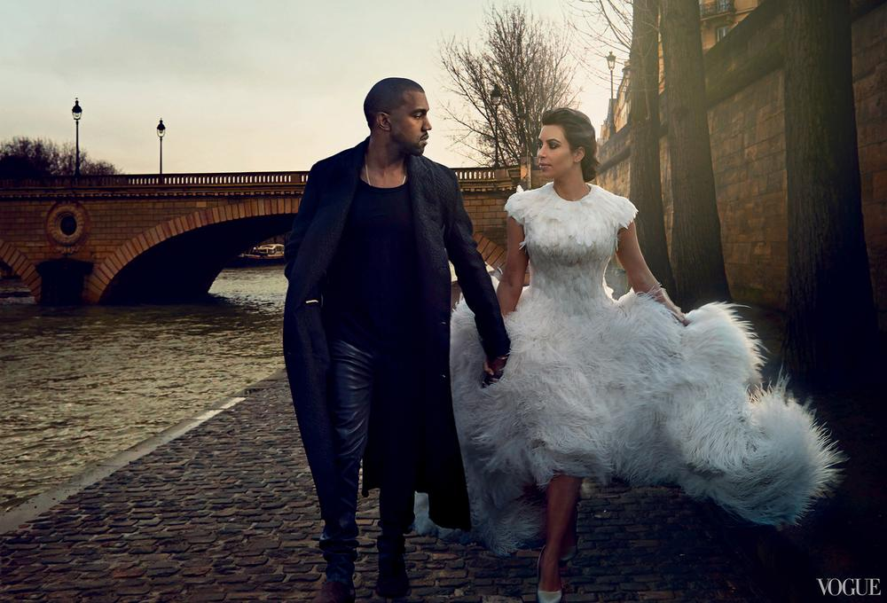 Picture Perfect Clan! See Kimye & North West's Vogue Editorial