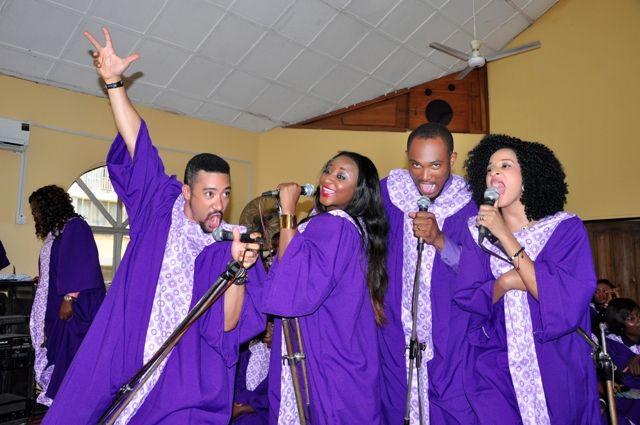 Knocking on Heavenu0027s Doors - March 2014 - BellaNaija - 025  sc 1 st  BellaNaija & Ini Edo Majid Michel u0026 Blossom Chukwujekwu Show Off Singing Chops ...