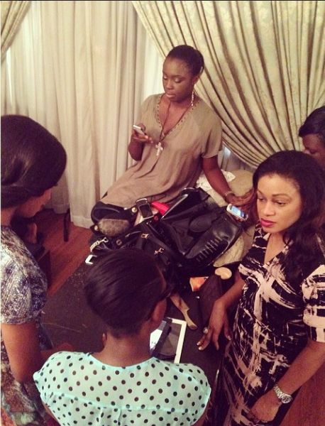 Lanre Da Silva Ajayi Colour Storm Behind the Scenes - BellaNaija - March 2014002