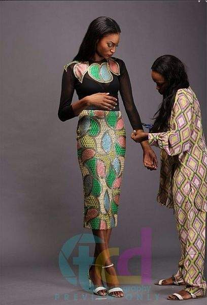 Lanre Da Silva Ajayi Colour Storm Behind the Scenes - BellaNaija - March 2014003