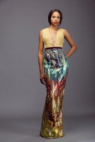 Lanre Da Silva Ajayi Colour Storm Collection Lookbook - BellaNaija - March 2014002