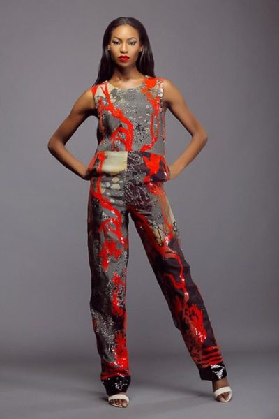Lanre Da Silva Ajayi Colour Storm Collection Lookbook - BellaNaija - March 2014006