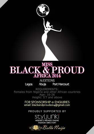 Miss Black & Proud Africa 2014 - BellaNaija - March 2014