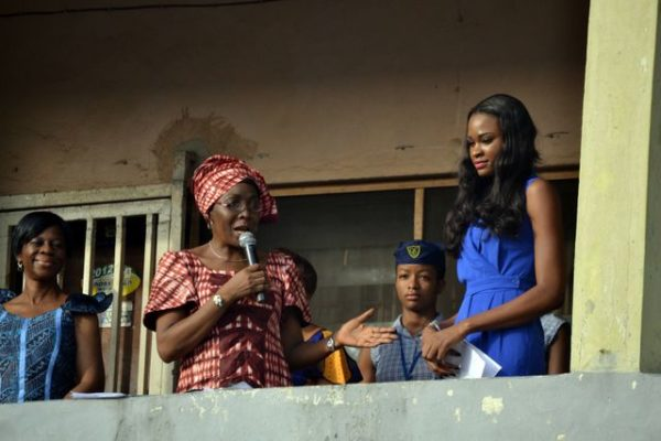 Miss Nigeria Ezinne Akudo at Queen's College - March 2014 - BellaNaija - 025