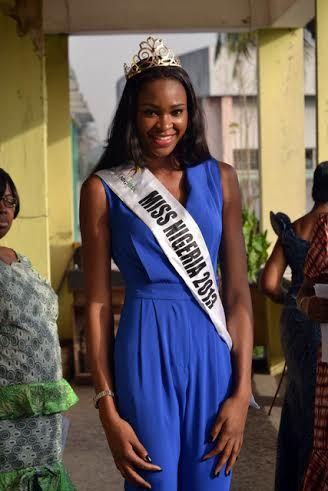 Miss Nigeria Ezinne Akudo at Queen's College - March 2014 - BellaNaija - 026
