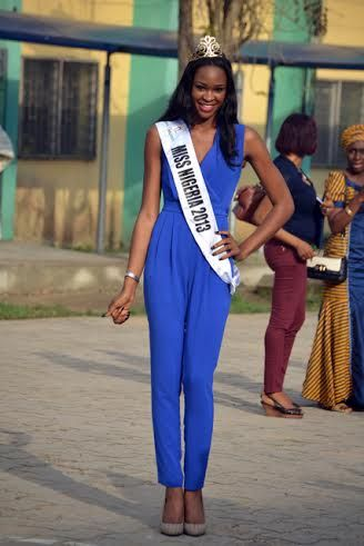 Miss Nigeria Ezinne Akudo at Queen's College - March 2014 - BellaNaija - 028