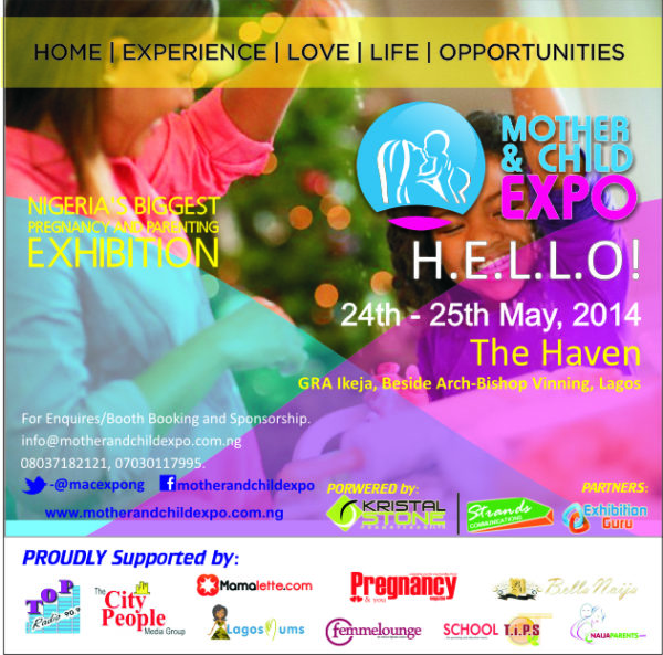 Mother&Child Expo - BellaNaija - March - 2014