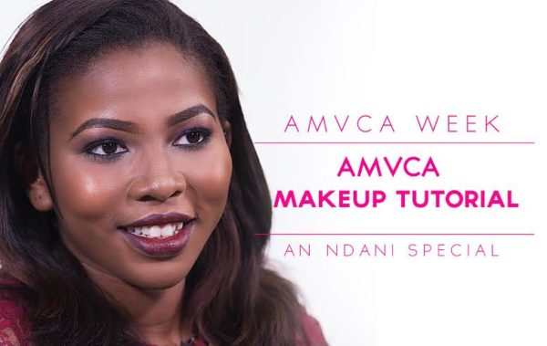 Ndani TV Special AMVCA WEEK Makeup Tutorial with Doranne Beauty - BellaNaija - March 2014