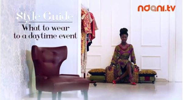 Ndani TV Style Guide What to Wear to a Day Time Event - BellaNaija - March2014