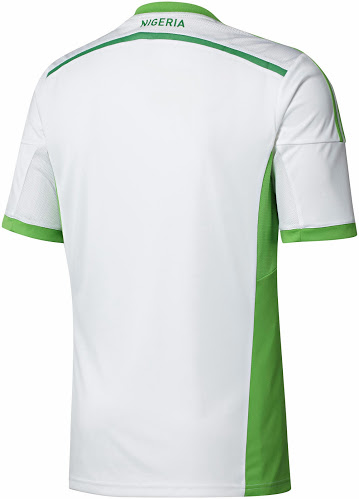 Nigeria 2014 World Cup Away Kit - BellaNaija - March - 2014