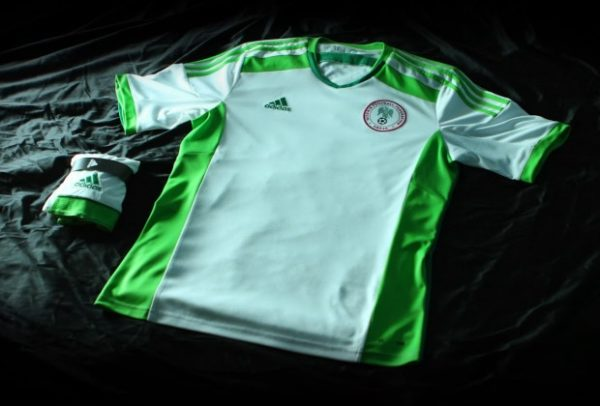 Nigeria 2014 World Cup Away Kit Front - BellaNaija - March - 2014