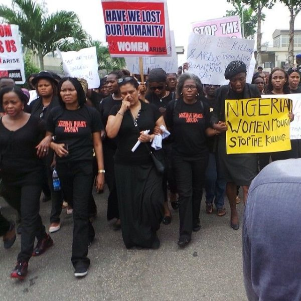Nigerian Women Walk in Lagos - March 2014 - BellaNaija - 027