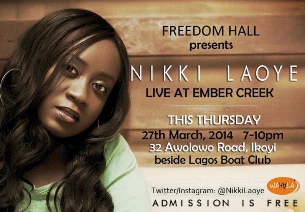 Nikki Laoye Freedom Hall - BellaNaija - March - 2014