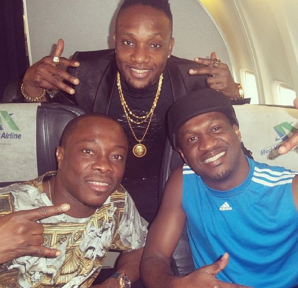 Paul Okoye Arrives PH City With Celebs For Traditional