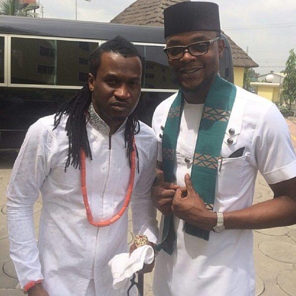 The groom Paul Okoye & Olamiju Alao-Akala