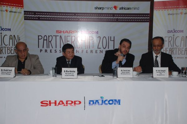 SHARP and Dajcom Partnership Announcement - BellaNaija - March2014001